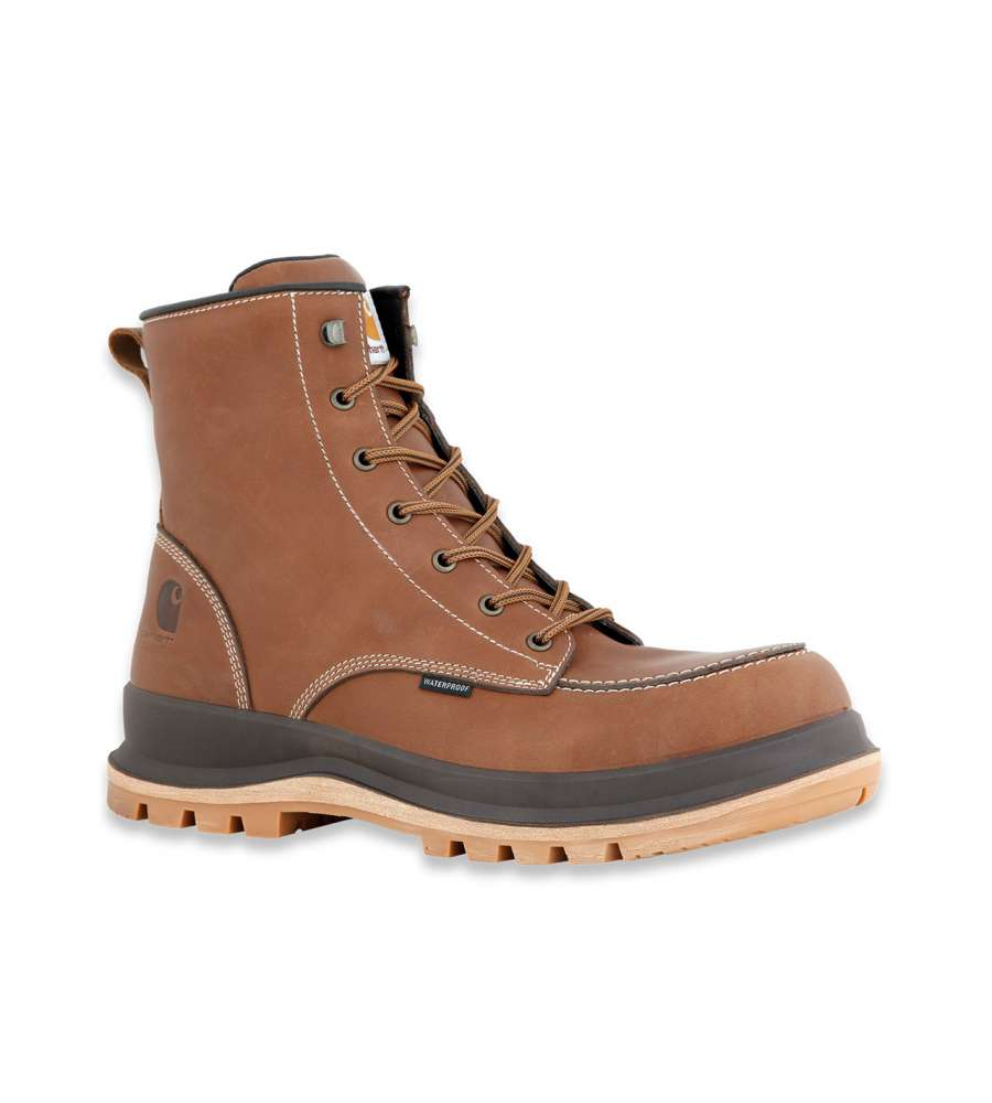 SCARPONE COLLO ALTO HAMILTON RUGGED S3 MARRONE CARHARTT NUMERO 45.