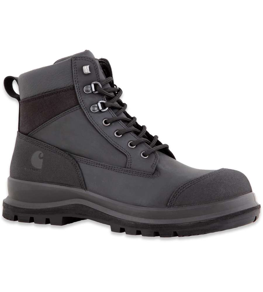 SCARPONE COLLO ALTO DETROIT RUGGED S3 NERO CARHARTT NUMERO 39.
