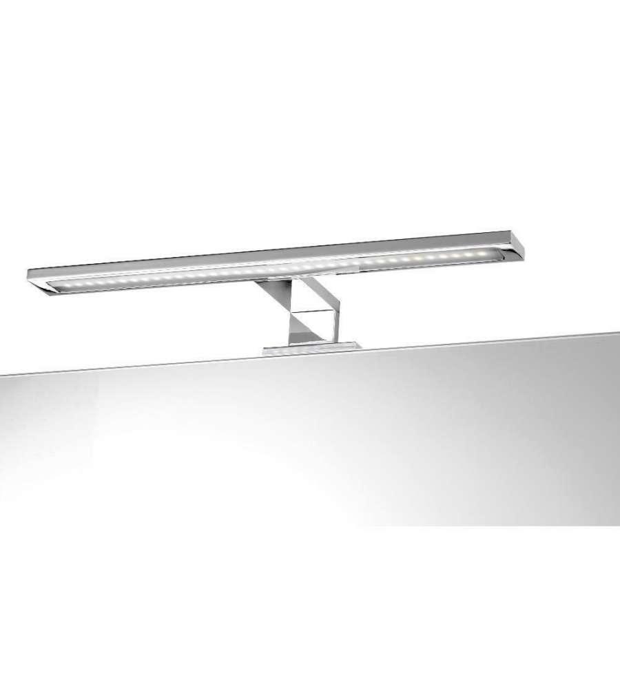 Specchio Bagno 60 X 60.Lampada A Led Universale In Abs Per Specchio Bagno Larghezza 60