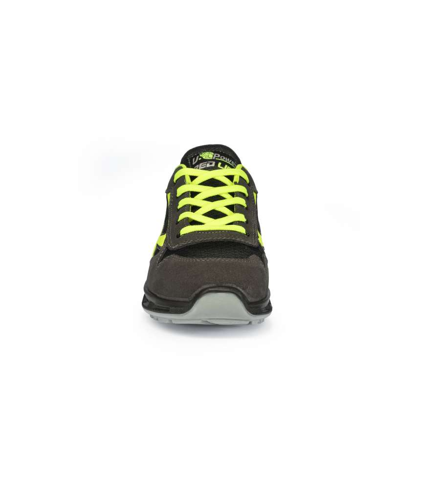 SCARPA ANTINFORTUNISTICA U-POWER S1P SRC ESD MODELLO YELLOW - TAGLIA 45