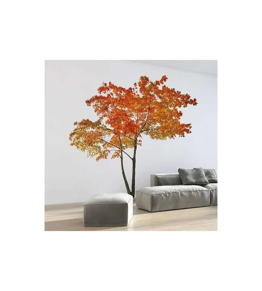 STICKER MURALE GIANT 'ORANGE TREE', 280x100 CM