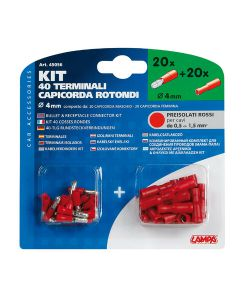 KIT 40 CAPICORDA ROT.ROSSI