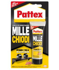 PATTEX MILLECHIODI FORTE&RAPIDO 100G