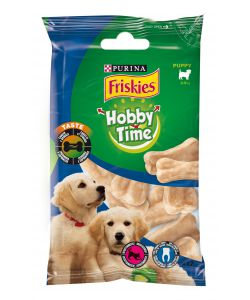 FRISKIES PLEASURE, MINI OSSI CON CAROTA E SPINACI, 70 GR.