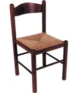 Sedute Per Sedie Di Legno.Sedia In Legno Modello Liguria Con Seduta In Paglia