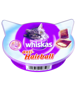 WHISKAS S&T ANTI HAIRBALL GR60