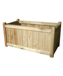 Balconiere e fioriere for Fioriere in legno obi