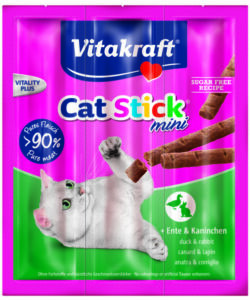 CAT STICK MINI ANATRA E CONIGLIO - VITAKRAFT