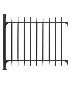 Pannello per recinzione modulare - Recinzioni in metallo per giardino ...