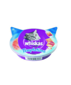 WHISKAS TEMPTATIONS SALMONE 60GR