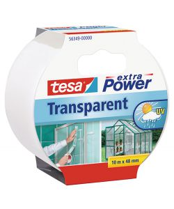 TESA EXTRA POWER TRANSPARENTE - 10MX48MM.