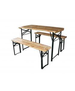 Eurobrico Tavoli Da Giardino.Set Da Giardino Birreria Tavolo Per Esterno Pieghevole 200x70 Cm
