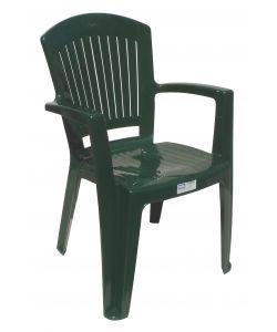 Sedie Da Giardino In Plastica Verdi.Sedia Verde Da Giardino Comfort Vega