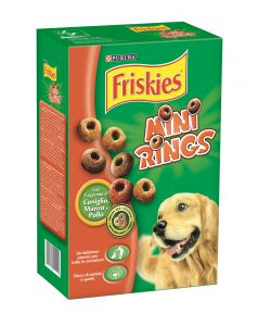 FRISKIES BISCUIT/BISCOTTI - 'MINI RINGS', 500 GR.