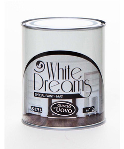 WHITE DREAM SPECIAL PAINT MAT BIANCO GUSCIO D'UOVO