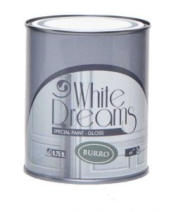 WHITE DREAM SPECIALE PAINT GLOSS BIANCO BURRO