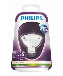 PHILIPS LAMPADINA LED 5W GU5.3 WW 12V MR16 36D ND/4