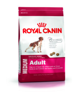 ROYAL CANIN, MEDIUM ADULT, 15 KG DI CROCCHETTE PER CANI ADULTI DI MEDIA TAGLIA DAGLI 11 AI 25 KG.