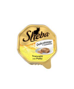 SHEBA DELICATEZZA IN GELATINA CON POLLO 85 GR.