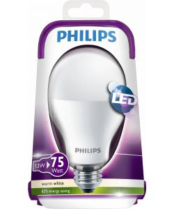 PHILIPS LAMPADINA LED 75W E27 WW 230V A67