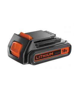 BATTERIA AL LITIO 18 V - 2.0Ah 'BL1518-XJ' - BLACK&DECKER.
