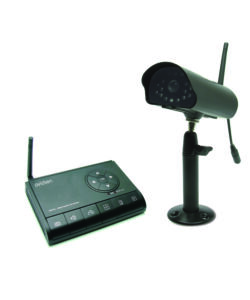 KIT DI VIDEOSORVEGLIANZA CON VIDEOCAMERA WIRELESS
