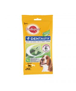 PEDIGREE DENTASTIX FRESH MEDIUM - 7 PEZZI - 180 GR.