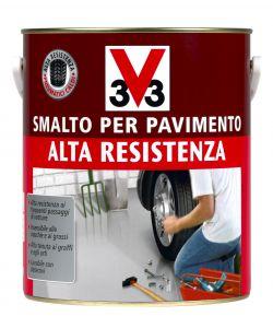 V33 smalto per pavimenti rosso mattone 2 5 litri alta resistenza - Smalto piastrelle v33 ...
