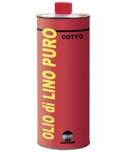 Olio di lino crudo 1 litro lombardi for Olio di lino crudo