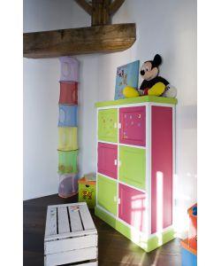 Pittura lavagna fucsia - Decoupage su mobili in formica ...