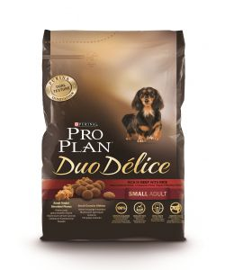PRO PLAN DUO DELICE SML ADT DOG BF&RI 2.5 KG.