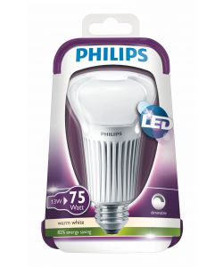 PHILIPS LAMPADINA LED 75W E27 WW A67