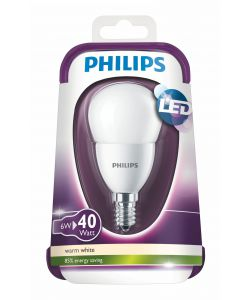 PHILIPS LAMPADINA LED 40W E14 WW P48