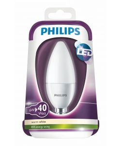 PHILIPS LAMPADINA LED 40W E14 WW B39