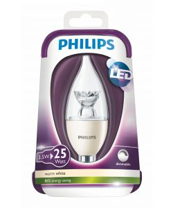 PHILIPS LAMPADINA LED 25W E14 WW BA39
