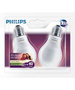 DUE LAMPADINE LED PHILIPS 40W E27.