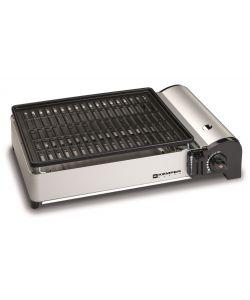 Offerta npo bbq gas 4fuochi c piastra e griglia ghisa - Barbecue portatile a gas ...