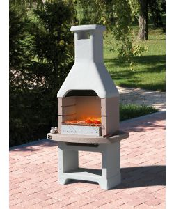 BARBECUE SUNDAY 'OASI CRYSTAL' IN MURATURA PER ESTERNO - 86x56x211H.