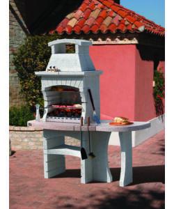 Barbecue sunday congo crystal in muratura per esterno for Offerte barbecue in muratura