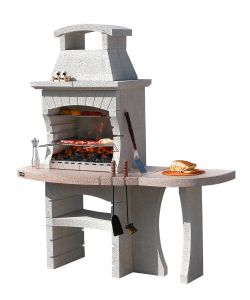 BARBECUE SUNDAY 'CONGO CRYSTAL' IN MURATURA PER ESTERNO - 170x71x201H.