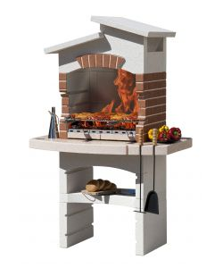 BARBECUE SUNDAY 'YORK CRYSTAL' IN MURATURA PER ESTERNO - 114x71x177H.