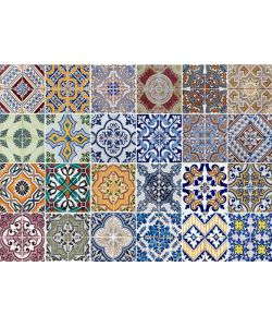 Sticker per piano cottura kp azulejos 47x65 cm for Adesivi per mattonelle