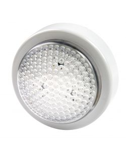 LUCE LED A PRESSIONE 'PUSH LIGHT' TONDA - VELAMP.