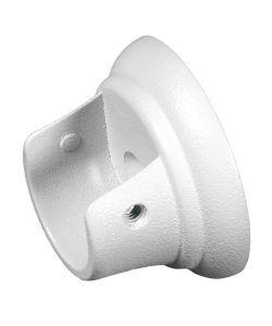 2 supporti bianchi laterali per tubo tenda diametro 20 mm for Tendaggi leroy merlin