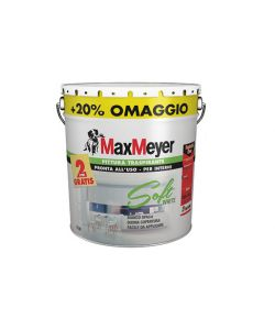 PITTURA SOFT WHITE MAXMEYER 10+2 LITRI.