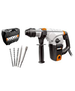WORX - MARTELLO DEMOLITORE 'WX333' DA 1.250 WATT 33 MM.