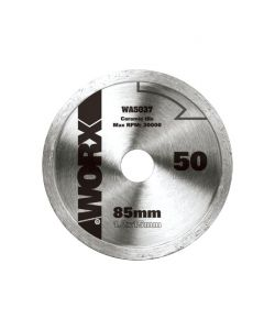 WORX - DISCO DA TAGLIO DIAMANTATO 85MM 'WA5037'.