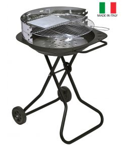 BARBECUE GRILL A CARBONELLA 'TANDEM' - BST.