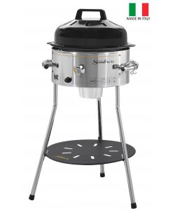 BARBECUE A GAS GPL/METANO 'SOMBRERO PLUS' - BST.