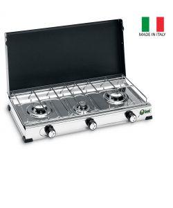 Barbecue a gas eurobrico for Fornello a gas metano 3 fuochi